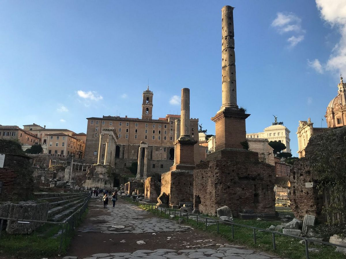The Roman Forum is a must see on a 3 Days in Rome itinerary