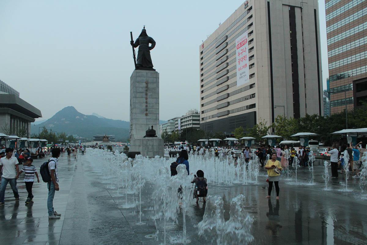 seoul travel Gwanghwamun Square