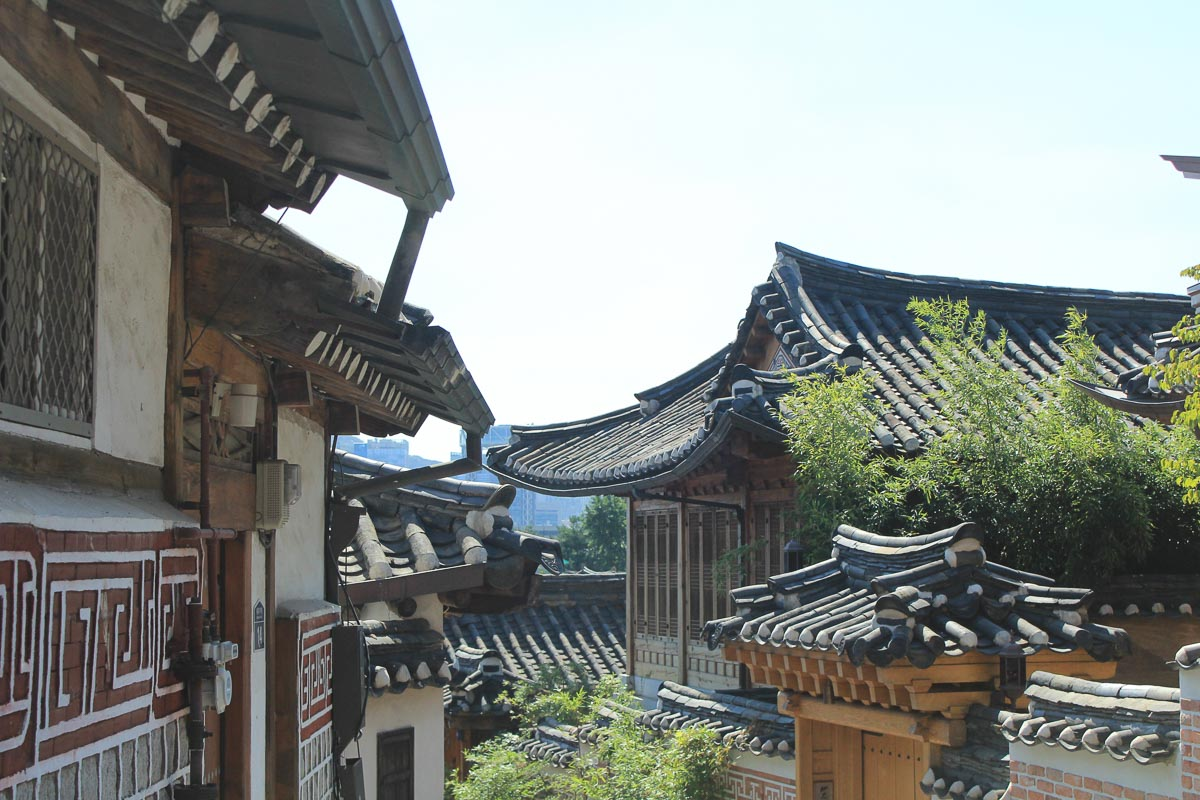 seoul itinerary | hanok house insadong area