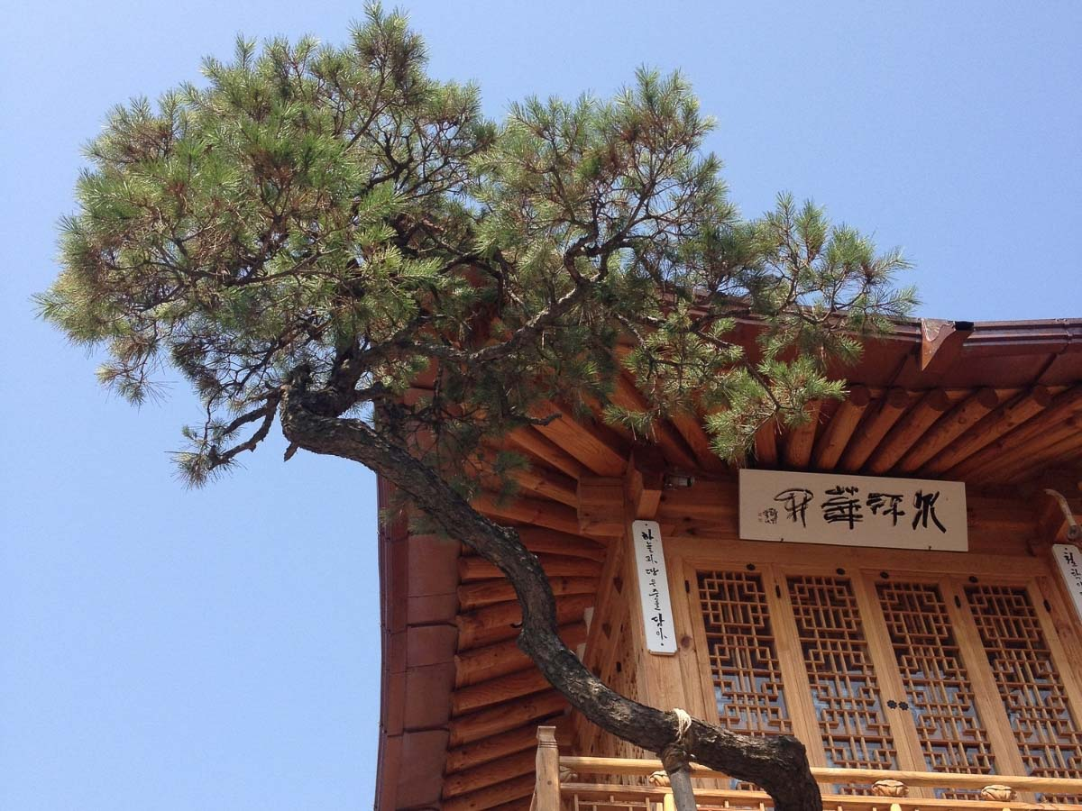traditional hanok house - world cultural heritage in Seoul