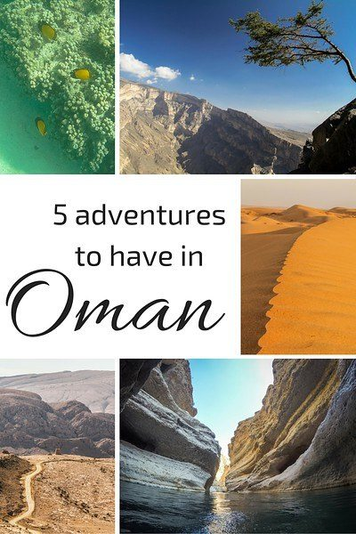 adventures in Sultanate Oman