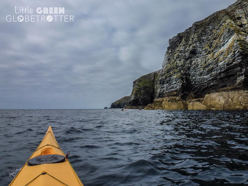 Kayaking on the Isle of Man