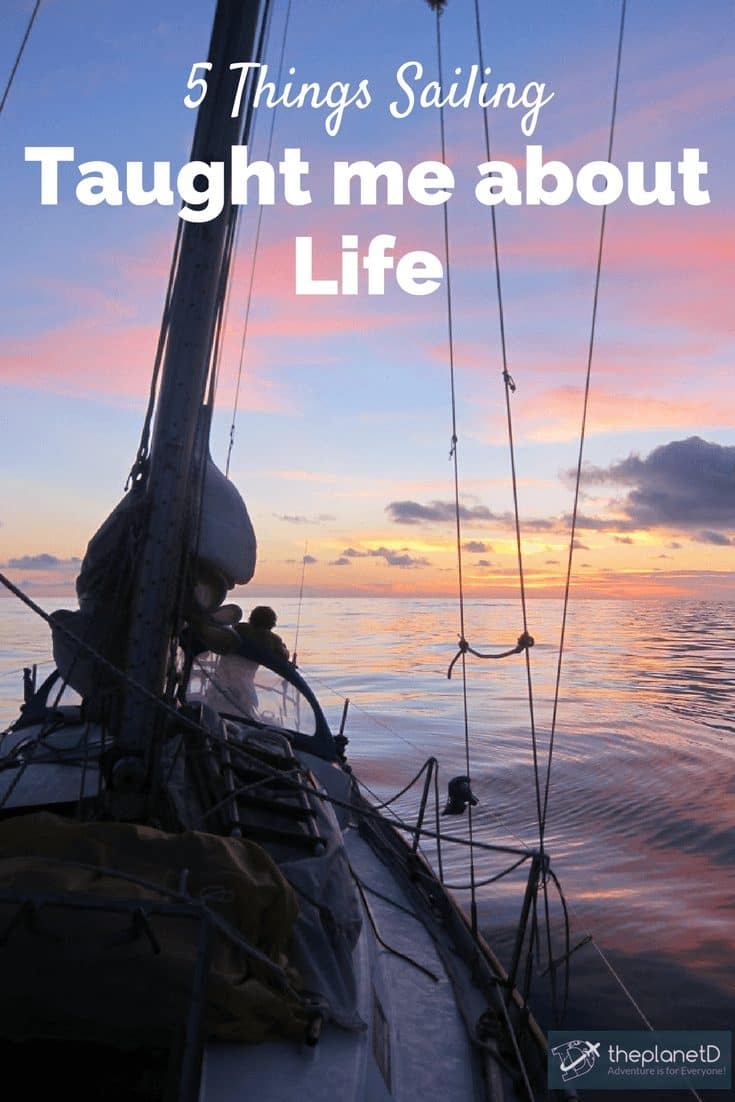 what sailing taught me about life