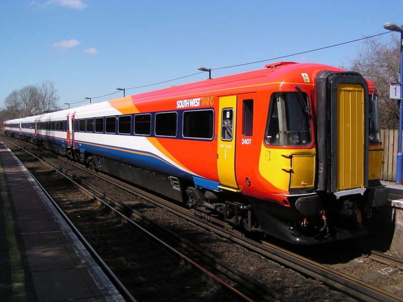 train london england