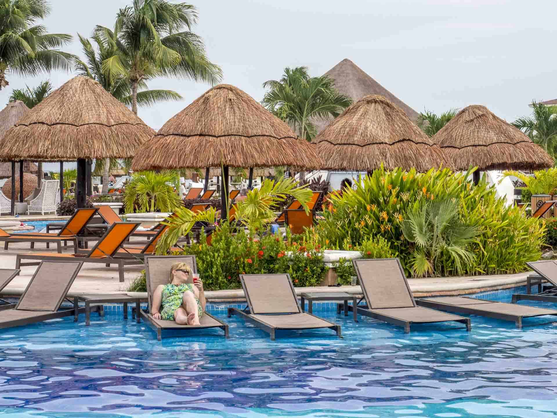 Couples resort in Mexico