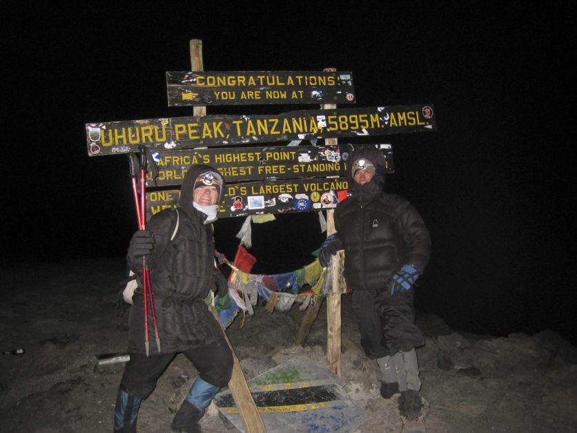 adventure vacations couples kilimanjaro
