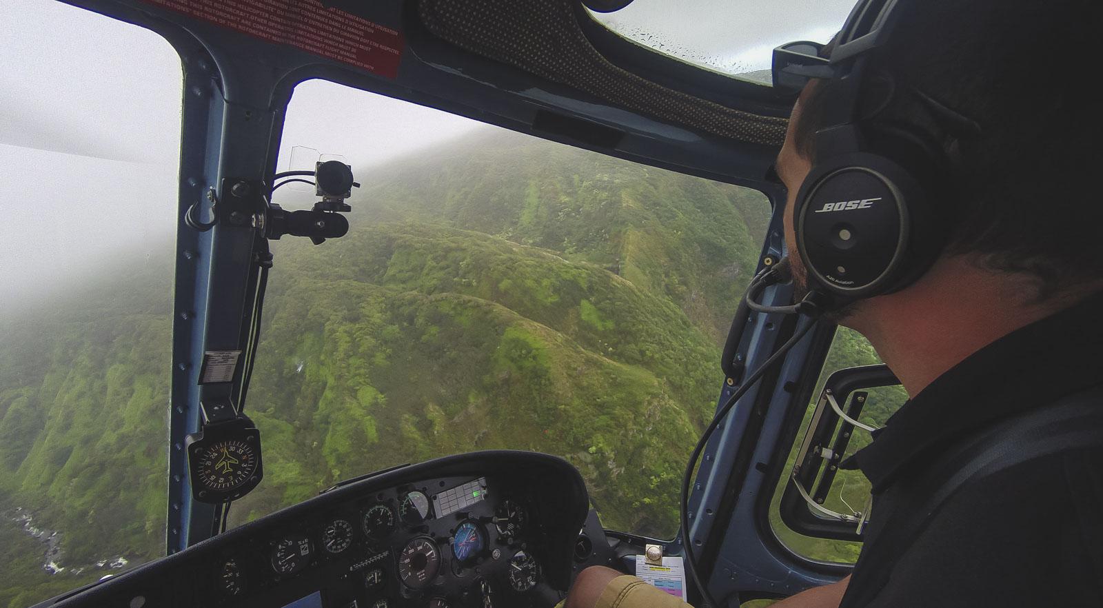 Helicopter Tour of Molokai