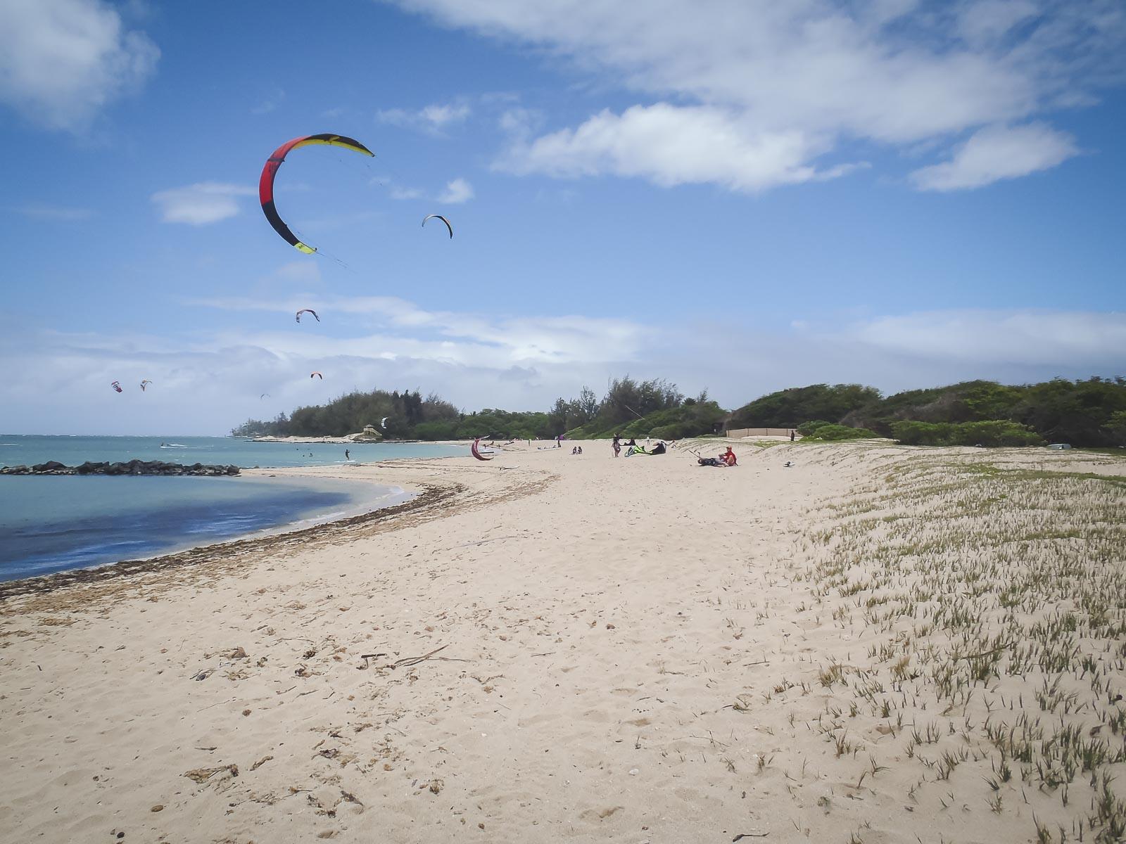 Kiteboarding adventure in Maui