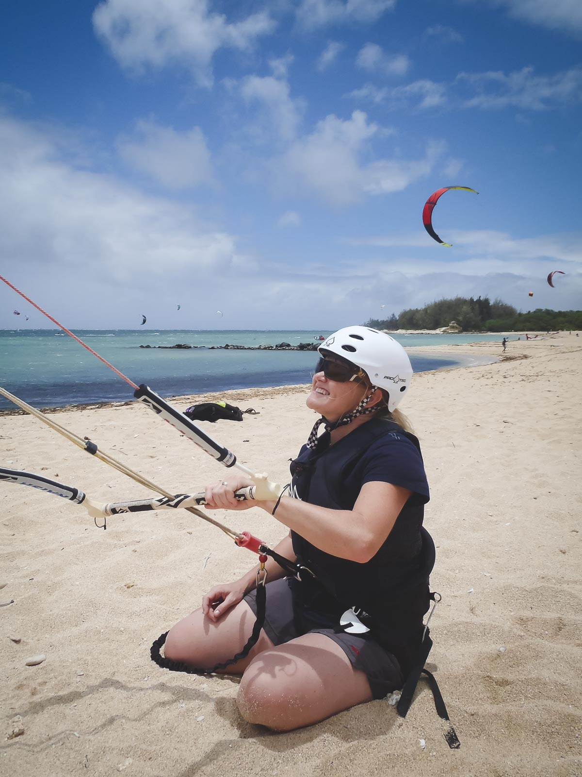 Kiteboarding lessons in Maui