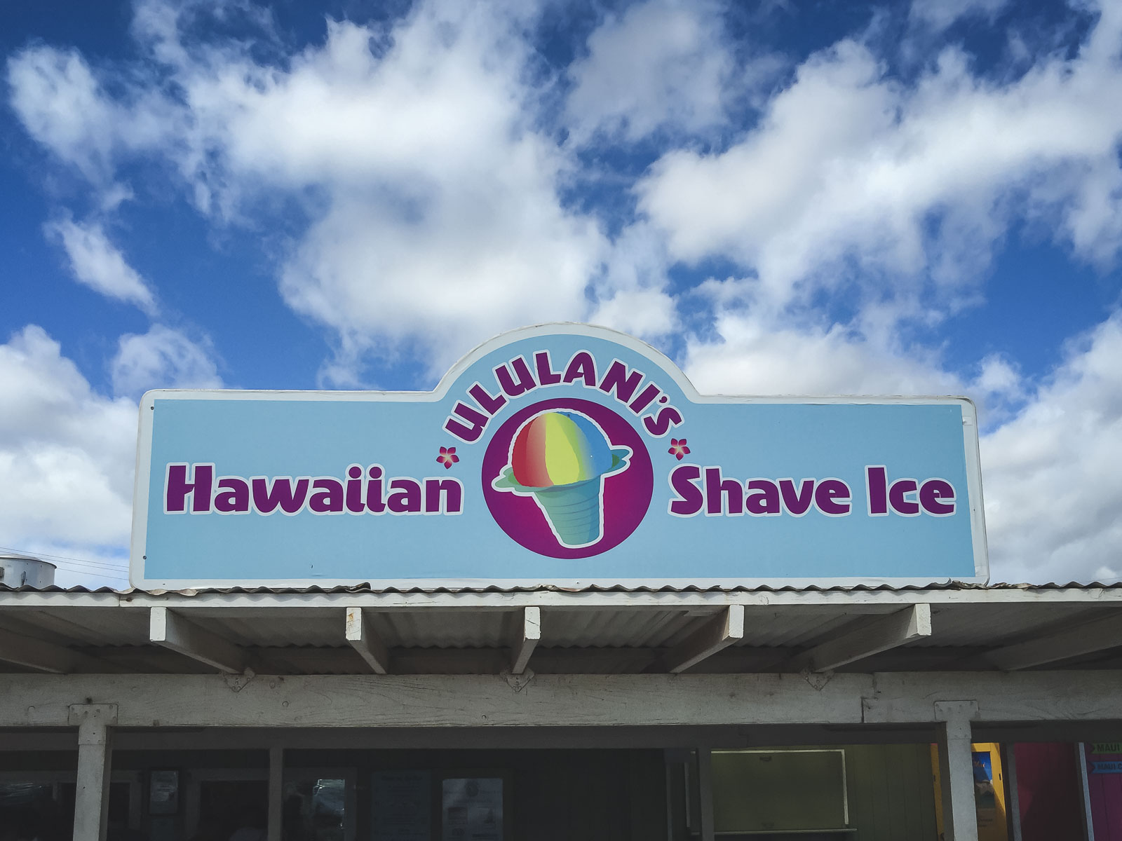 Eat Shave Ice in Maui