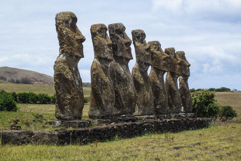 Ahu Akivi Moai
