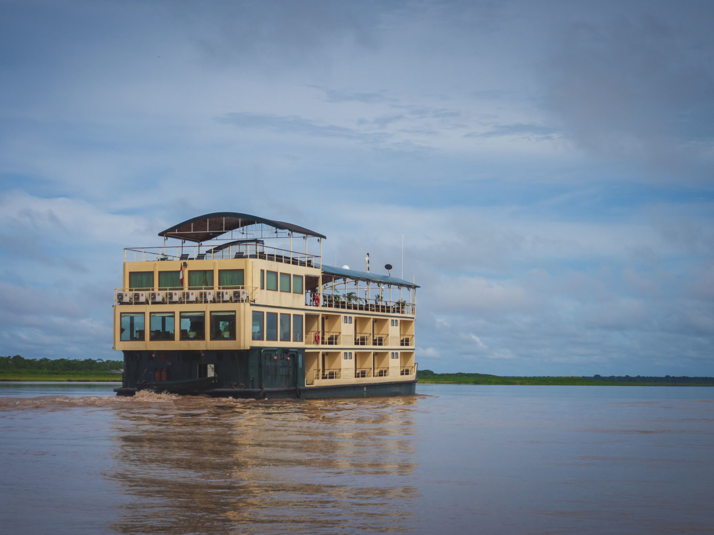 Amazon river Cruise in Peru
