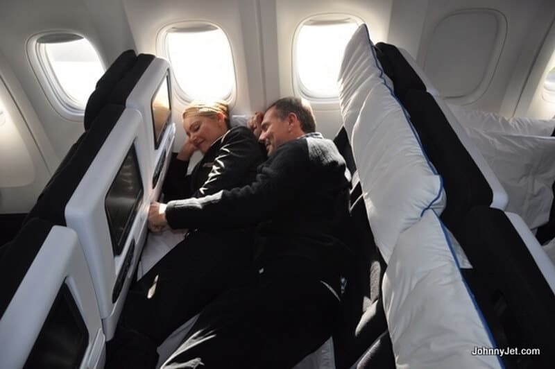 Australia by Air New Zealand SkyCouch