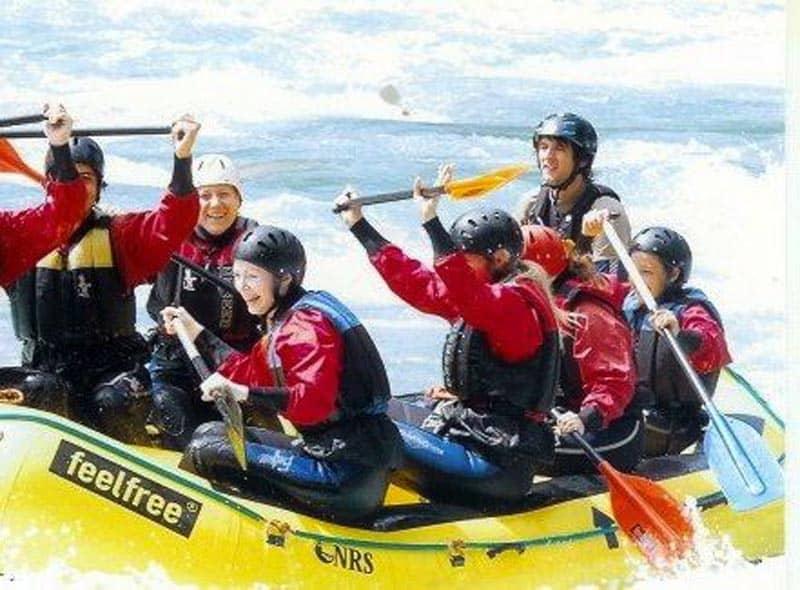 adventure travel austria whitewater rafting
