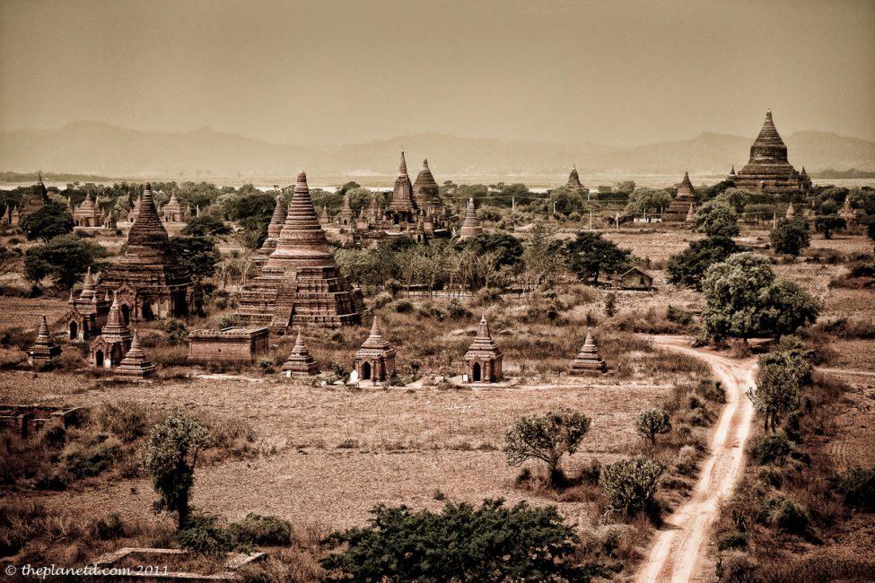 Temples of Bagan-Myanmar-Burma
