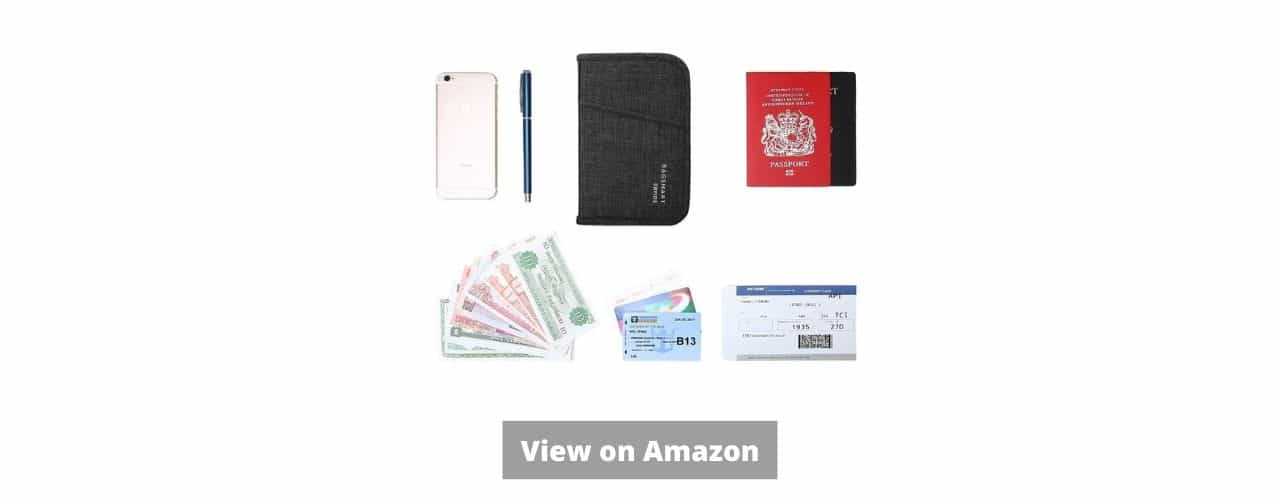 BAGSMART Passport Holder and Document Organizer