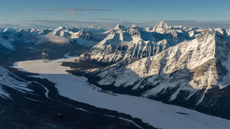 A Spectacular Helicopter Tour in Banff