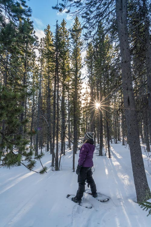 what to do in Canada | Snowshoe