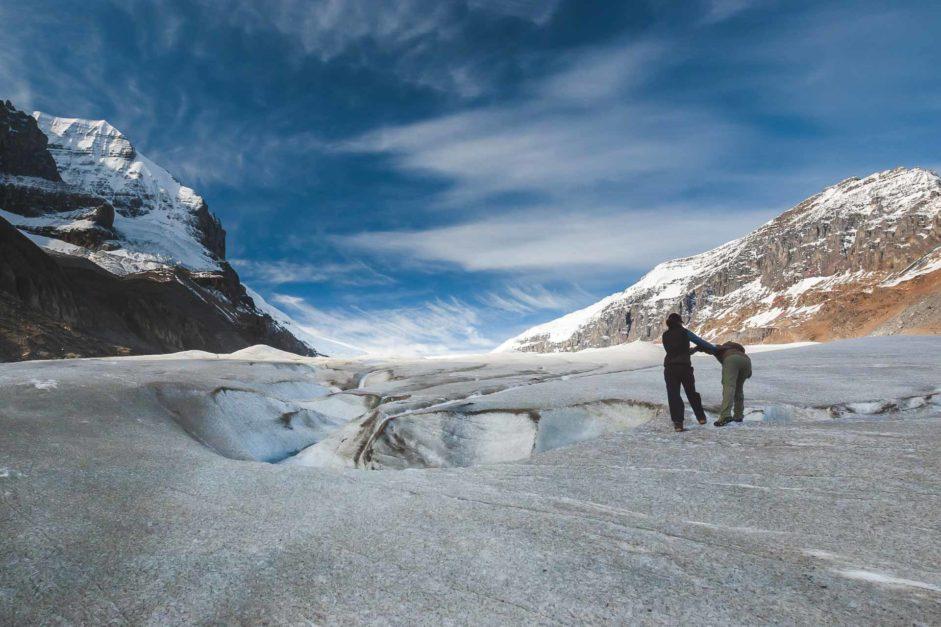 athabasca glacier alberta