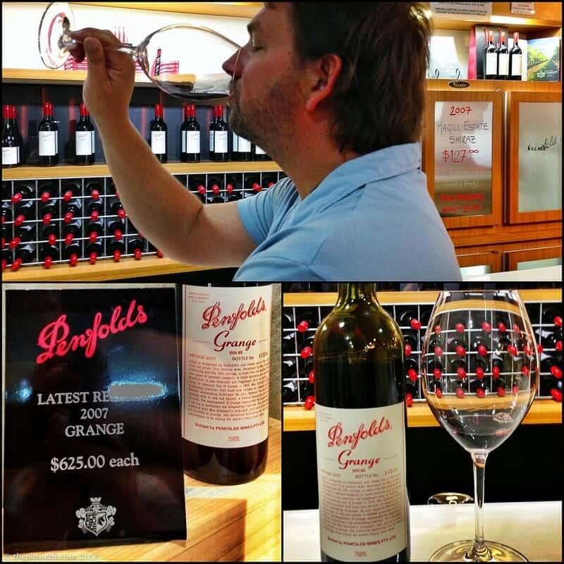 Barossa Valley Australia wine tasting