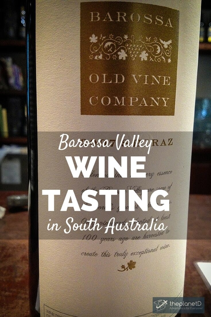 It was during our tour through the Barossa Valley in South Australia that we enjoyed a wine tasting and found out that we could make our own blend of wine.