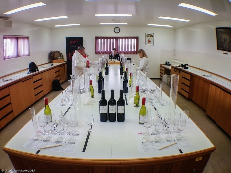 Barossa Valley lab for wine blending