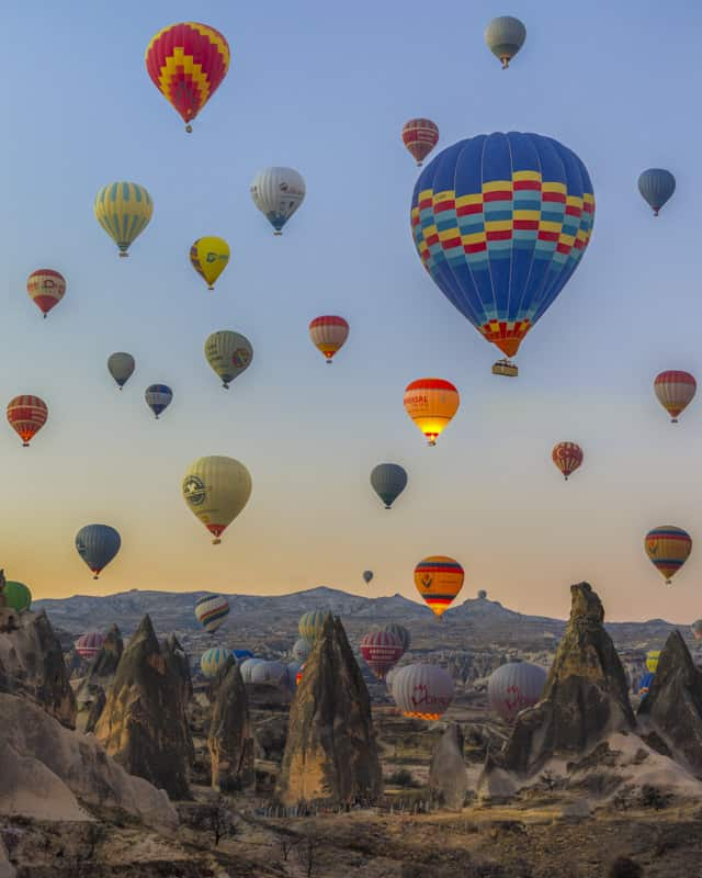 Beautiful places in the world to visit Cappadocia Turkey