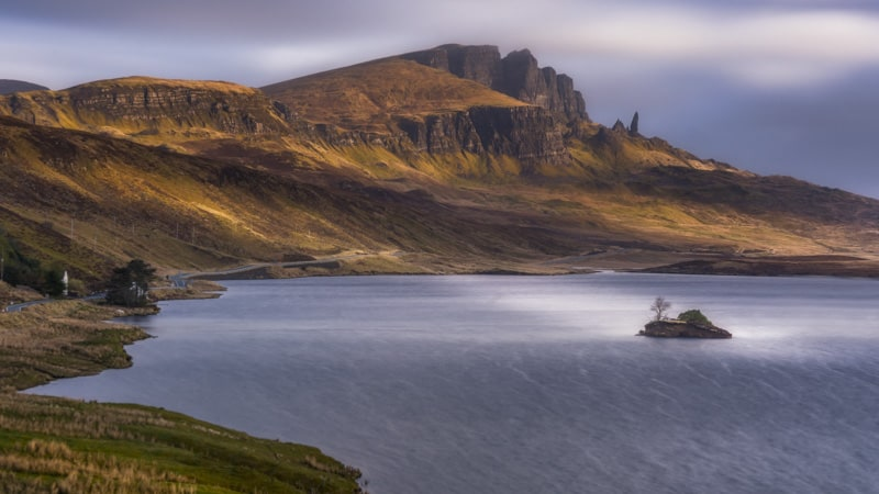 The beautiful Isle of Skye in Scotland