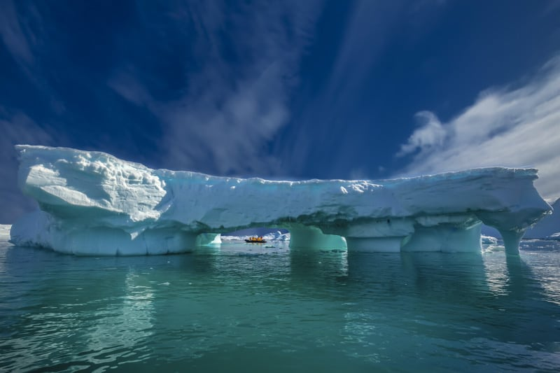 Antarctica one of the most beautiful places in the world to visit