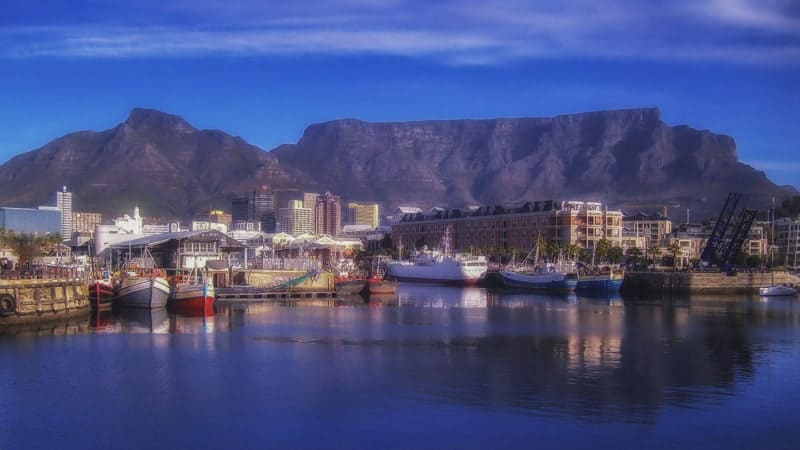 Cape Town, South Africa waterfront