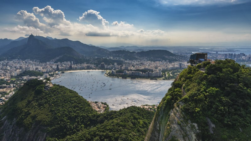 Rio de Janeiro in Brazil best place to visit in the world