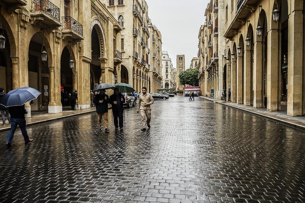 lebanon beirut walking mall