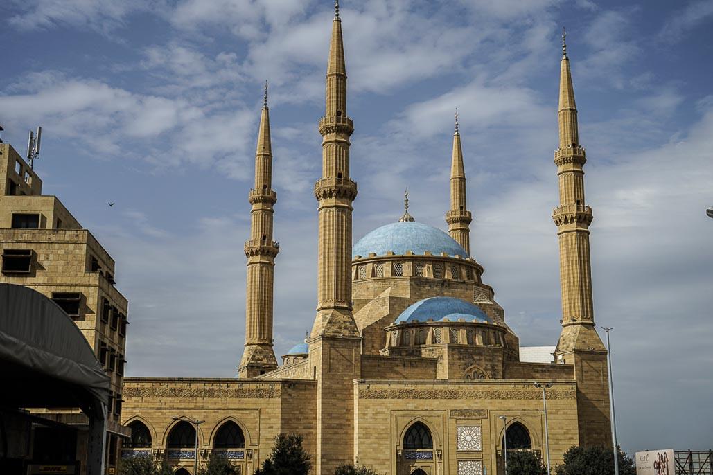 beirut travel mohammad al amin mosque