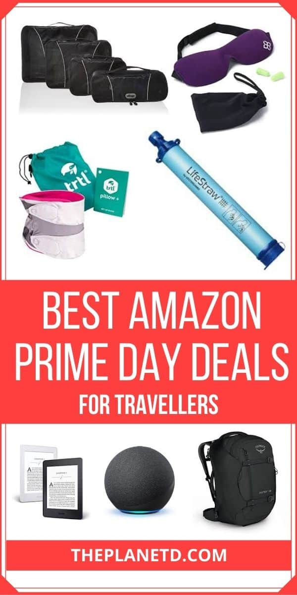 The Best Amazon Prime Day Deals For Travellers Pin 1