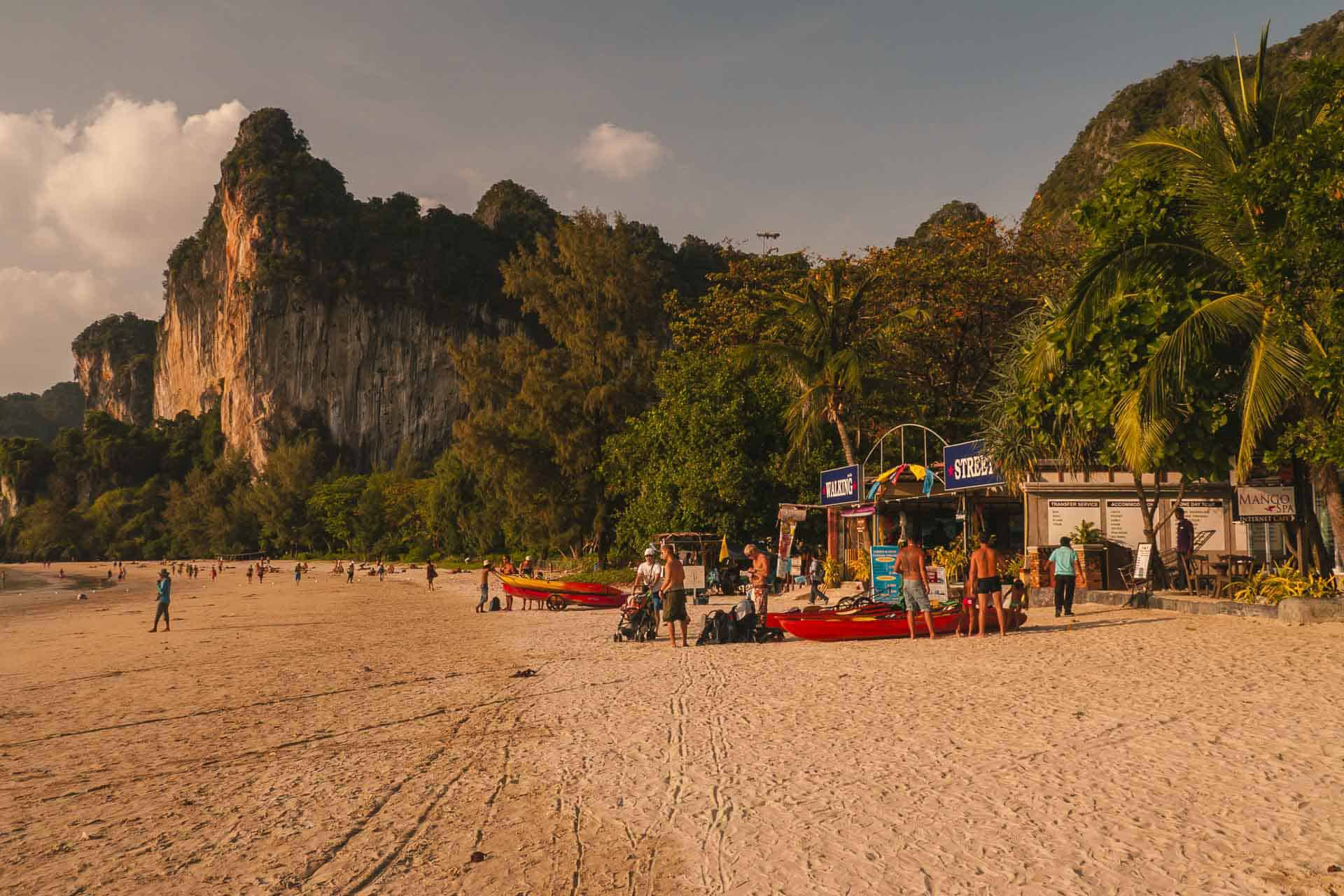 krabi things to do - railay beach