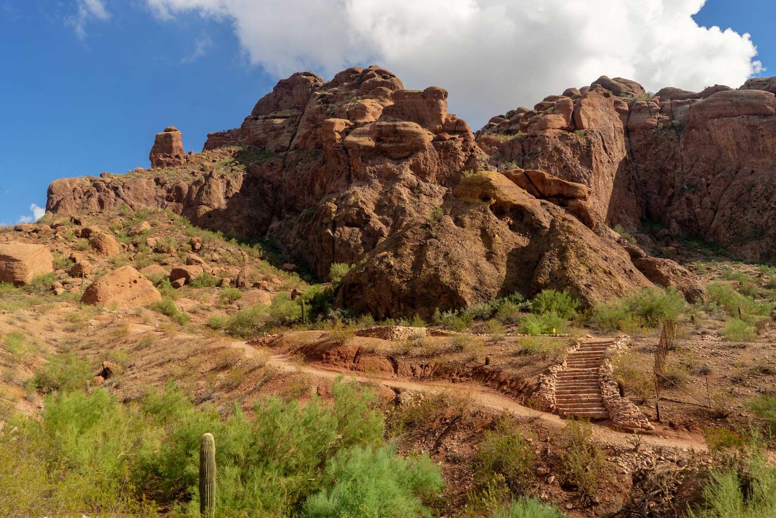 Echo Canyon Trail in Arizona