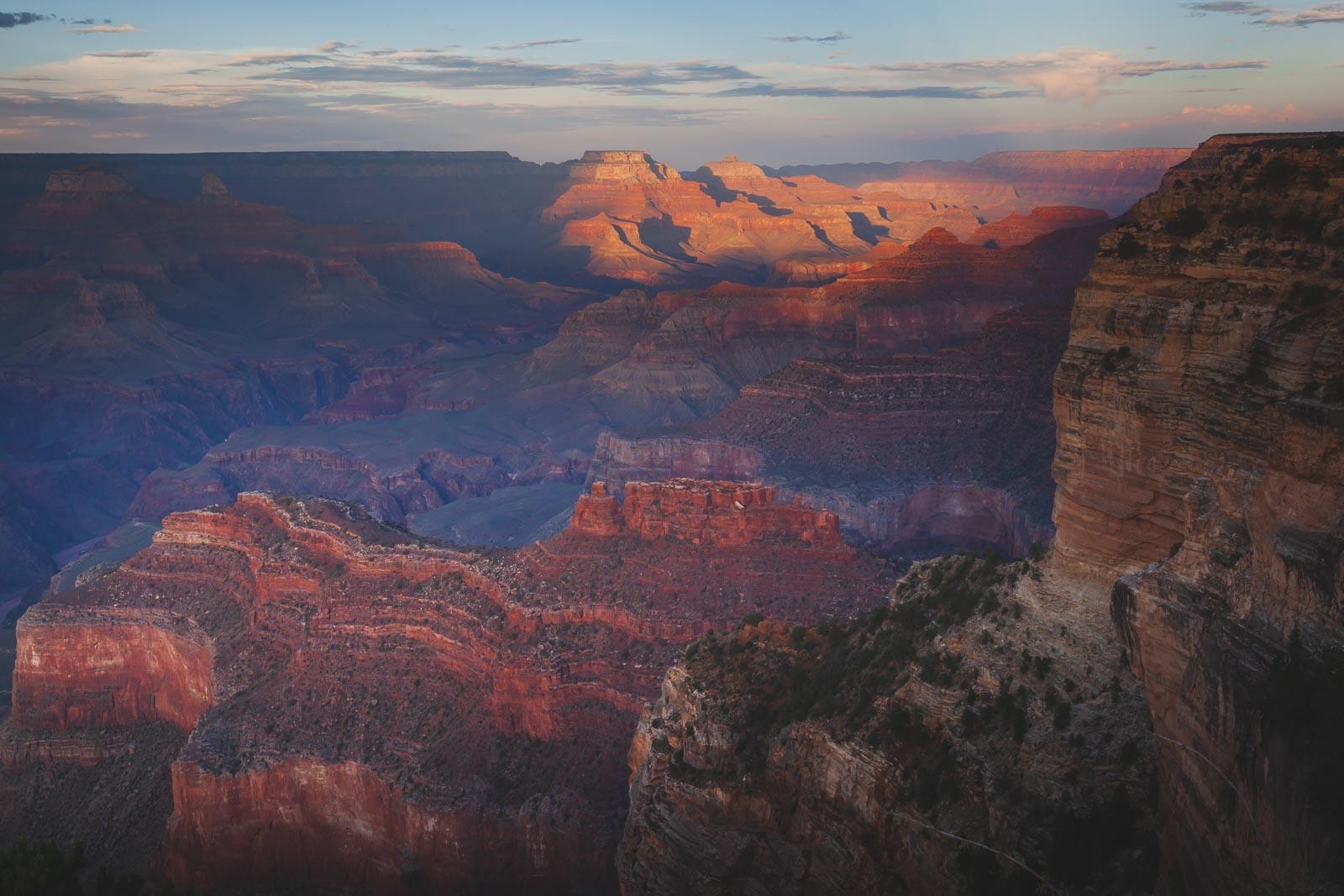 Rim Trail in Grand Canyon Arizona