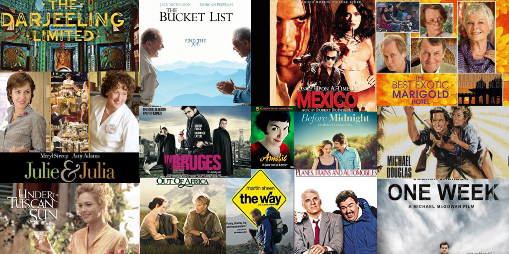 The Very Best Travel Movies