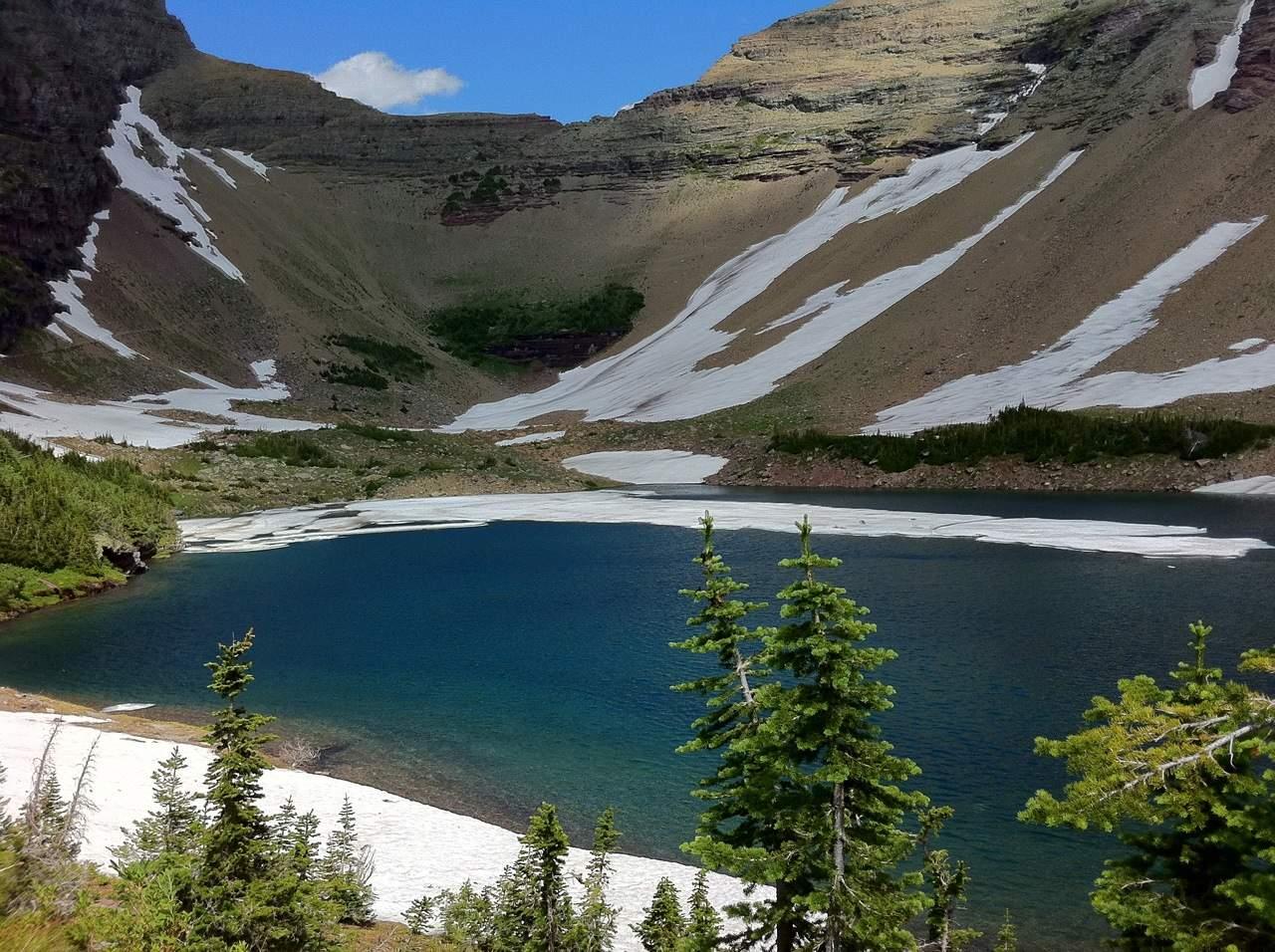 Glacier National Park Hikes - Ptarmigan Tunnel