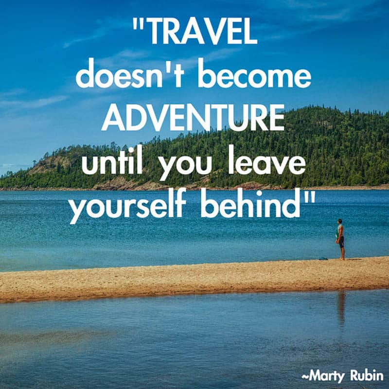 travel quotes by Marty Rubin