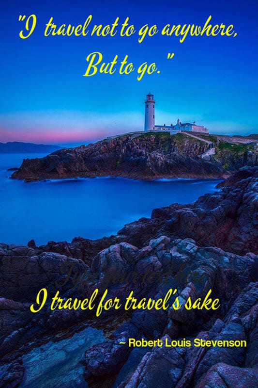 travel quotes robert louise stevenson