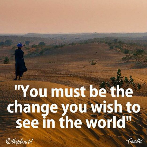 travel quotes by ghandi