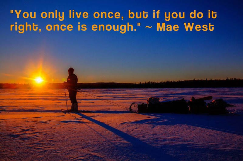 travel quotes by mae west