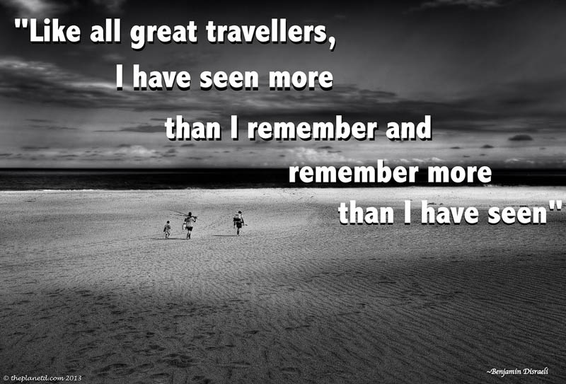 best travel quotes black and white