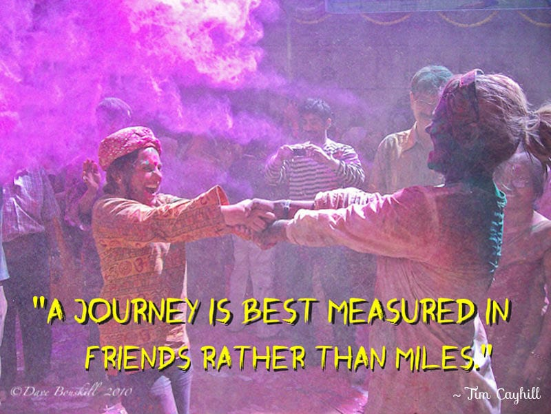 quotes traveling with friends | a journey is best measured in friends rather than miles