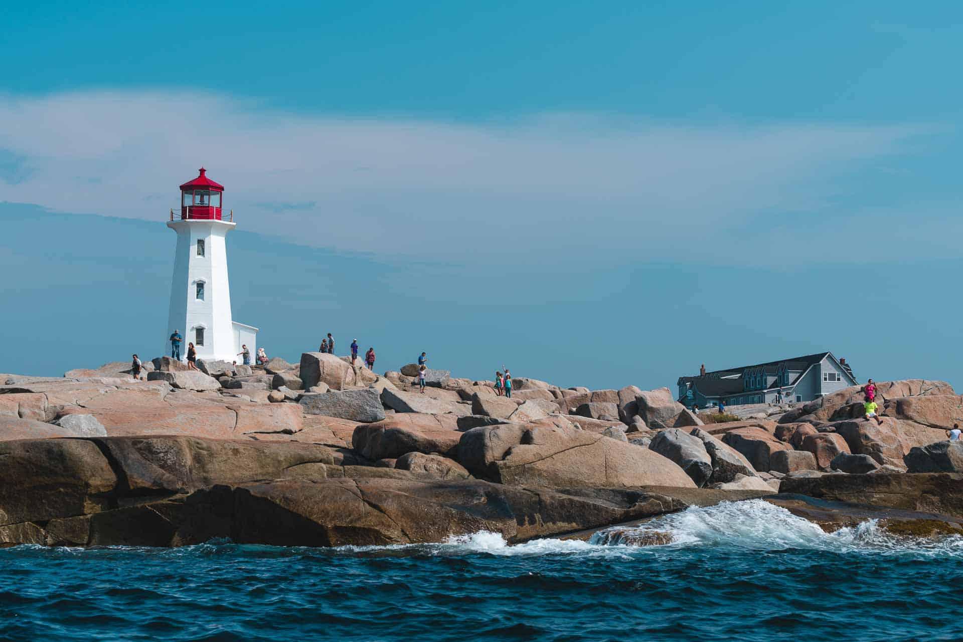 Peggy's cove Boat Tour in Nova Scotia