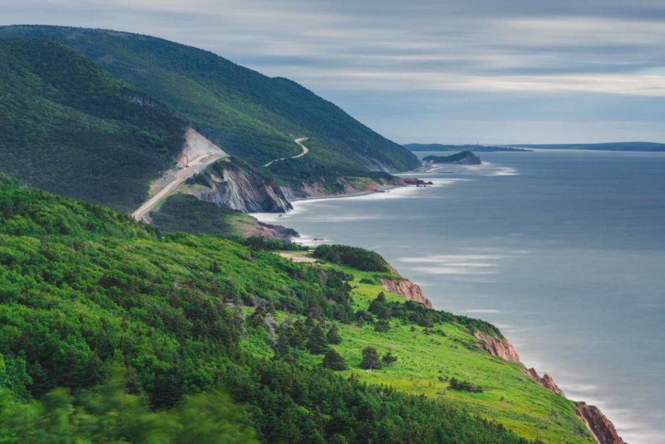 Cape Breton in Nova Scotia