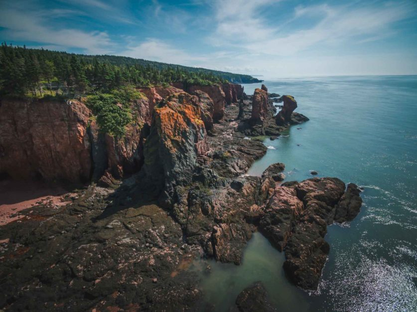 Cape Chignecto Provincial Park in Nova Scotia