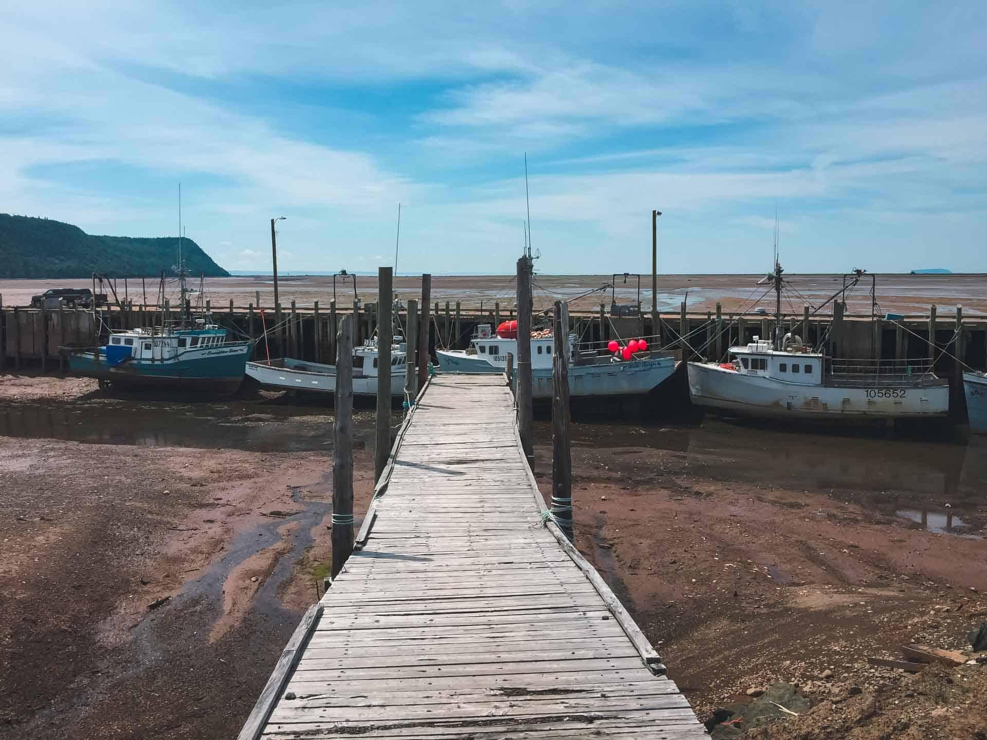 Hall's Harbour in Nova Scotia