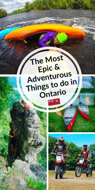 epic and adventurous things to do in Ontario Canada
